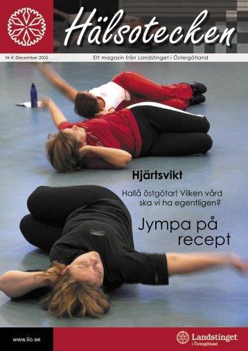 Jympa på recept - Landstinget i Östergötland