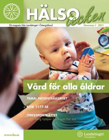 Vård för alla åldrar - Landstinget i Östergötland