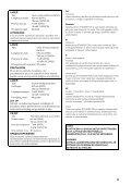 AMPLI-TUNER/LECTEUR DE DVD RECEIVER/DVD PLAYER - Ljudia - Page 3