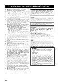 AMPLI-TUNER/LECTEUR DE DVD RECEIVER/DVD PLAYER - Ljudia - Page 4