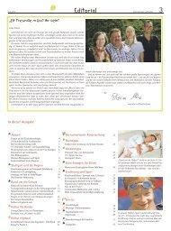 Alles für ein gesundes Kind - Elternzeitung Luftballon