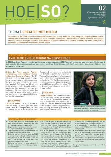 THEMA | CREATIEF MET MILIEU - Lne.be