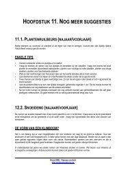 HOOFDSTUK 11.NOG MEER SUGGESTIES - Lne.be