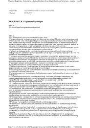 Decreet van 8 mei 2009 betreffende de diepe ondergrond - Lne.be
