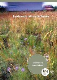 Leidraad natuurtechniek - ecologisch bermbeheer.pdf - Lne.be