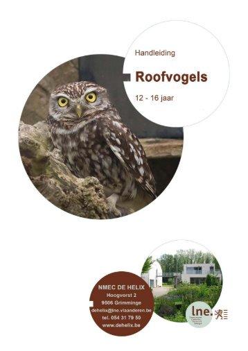 Roofvogels en hun leefmilieu: handleiding - Lne.be