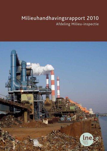 Milieuhandhavingsrapport 2010 (5,1 MB) - Lne.be