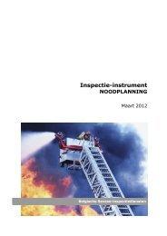 Inspectie-instrument Noodplanning - Federale Overheidsdienst ...