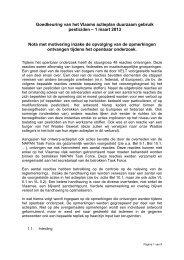 Goedkeuring van het Vlaams actieplan duurzaam gebruik ... - Lne.be