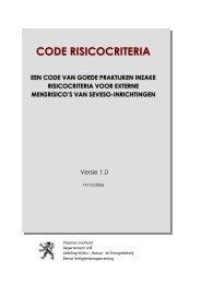 Code: Risicocriteria - Lne.be