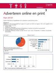 Adverteren online en print - Logeion