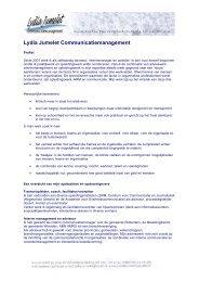 Lydia Jumelet Communicatiemanagement - Logeion