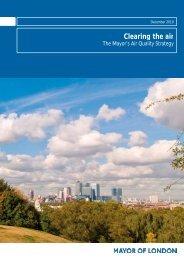 Clearing the Air - The Mayor's Air Quality Strategy - Greater London ...