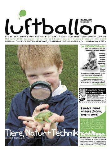 Das neue - Elternzeitung Luftballon