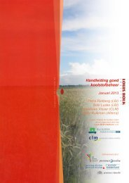 Handleiding goed koolstofbeheer - Louis Bolk Institute