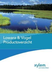 Product Portfolio - Lowara