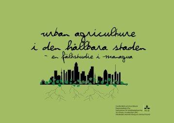 Urban Agriculture i den hållbara staden - Lunds Tekniska Högskola