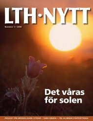 Det våras för solen - Lunds Tekniska Högskola