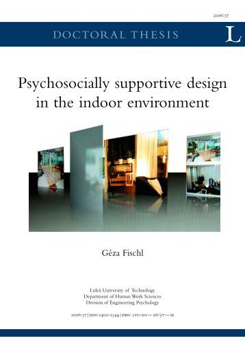 To return to author index for Indoor environmental quality design