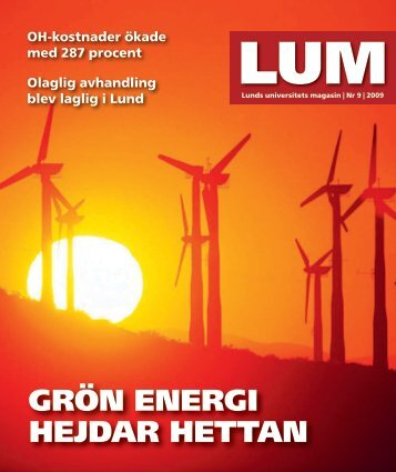 GRöN ENERGI HEJDAR HETTAN - Lunds universitet