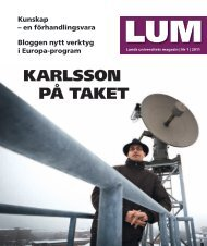 KARLSSON På TAKET - Lunds universitet
