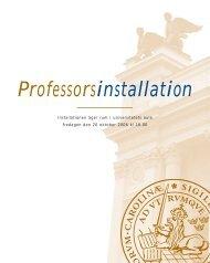 Fredagen den 20 oktober 2006 (PDF – 2,8 MB) - Lunds universitet