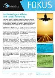 Fokus Nr. 2 - 2013 - Luftfartstilsynet