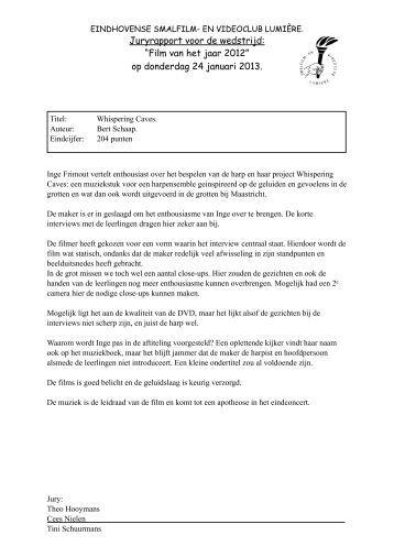Juryrapport formulieren 24 januari 2013.pdf - Smalfilm en videoclub ...