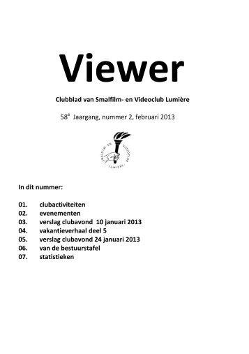 2013 02.pdf - Smalfilm en videoclub Lumière Eindhoven