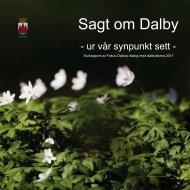 Arbetsbok 3 - Sagt om Dalby - Lunds kommun