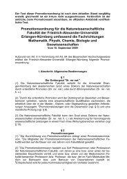 Promotionsordnung für die Naturwissenschaftliche Fakultät der ...