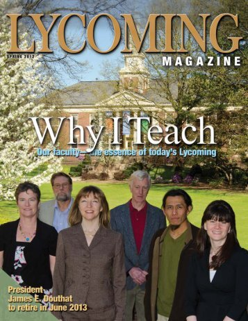 Spring 2012 - Lycoming College