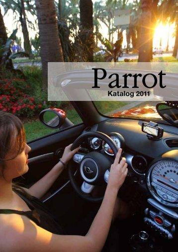 Parrot katalog 2011 (PDF)