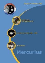 Mercurius - Werkgroep Maan en Planeten