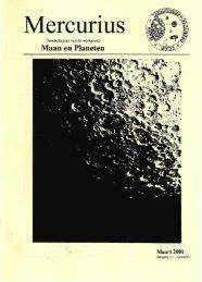 De Marsoppositie van 2001 - Werkgroep Maan en Planeten