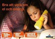 Bra att veta om el och energi.