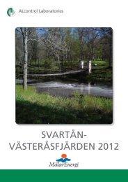 Vår senaste rapport från 2012 - Mälarenergi AB