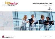 MEDIA-INFORMATIONEN 2012 - Handwerk Magazin