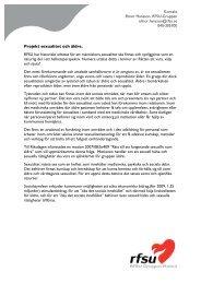 Projekt äldre och sexualitet - Malmö stad