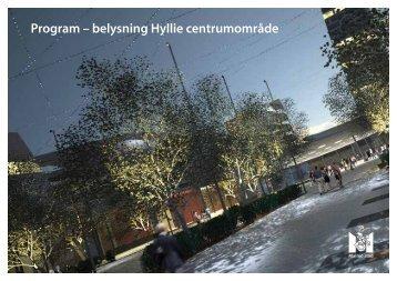 Program – belysning Hyllie centrumområde - Malmö stad