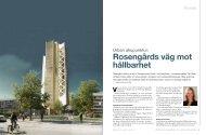 Rosengårds väg mot hållbarhet - Malmö stad