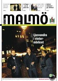 Ljusvandra i vinter- mörkret - Malmö stad