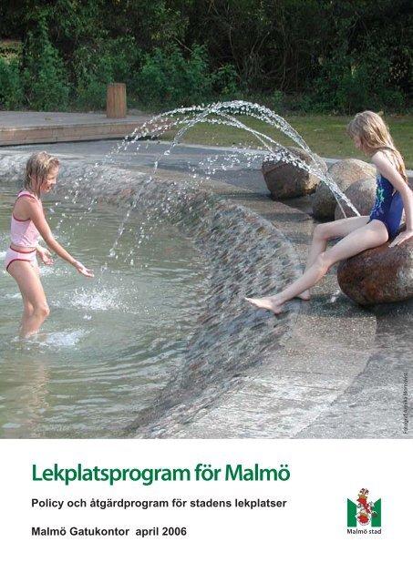 Lekplatsprogram för Malmö - Malmö stad