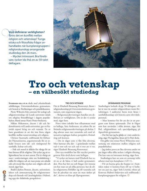 Religion eller livsåskådning?, sid 6 Fler unga i arbete ... - Malmö stad
