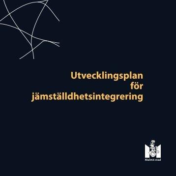 Utvecklingsplan för jämställdhetsintegrering - Malmö stad