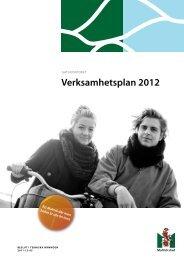 Verksamhetsplan 2012 - Malmö stad