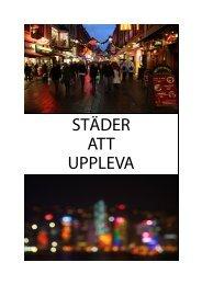 Städer att uppleva.pdf - Malmö stad