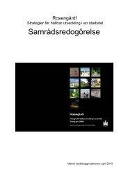 Ladda ner synpunkter Dialog-pm Rosengård! - Malmö stad