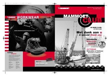 Club 1 - the Mammoet Store