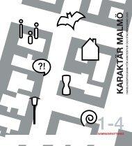 Handlingsprogram för arkitektur och stadsbyggnad - Malmö stad